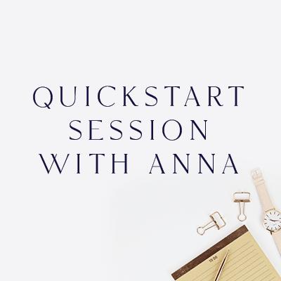 quickstart-with-anna