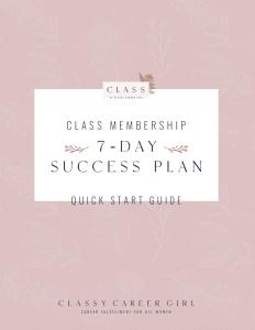 Quick Start Guide CLASS